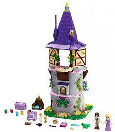 Compare prices on LEGO Disney Princess 41054 Rapunzel's Creativity Tower LEGO Disney Rapunzel, Lego Disney Princess, Lego Princesse Disney, Rapunzel Castle, Princess Rapunzel, Lego Duplo, Lego Toys, Lego Ninjago, Flynn Rider