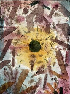Paul Klee - Solar Eclipse, 1918