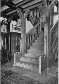 Staircase of Gothic Suggestion.