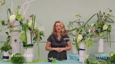 DIY floral design tutorial.  As part of a year long floral competition Beth O'Reilly AIFD competes for the Mayesh Design Star 2015 Title. You don't want to miss all the ideas and inspiration. This month it's all about designing outside of the vase. Beth's videos will air in March, June and September 2014. Don't miss it...watch and share:) https://www.youtube.com/watch?v=vxaSKsqz5cI&feature=youtu.be