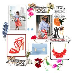 """Bez naslova #8"" by semic-merisa ❤ liked on Polyvore featuring mode, Sophie Hulme, Emi Jewellery, Swarovski, Dolce&Gabbana et L'Agence"