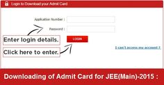 JEE Main 2015 Admit Card Available to Download Soon . Click on Below Link to Find Your Exam Centre and Admit Card Copy : http://examadmitcard.in/jee-main-admit-card/