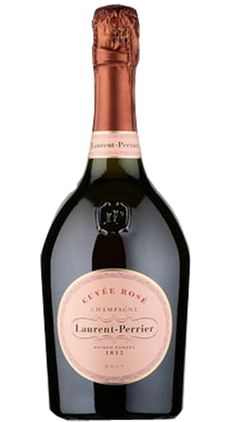 Laurent Perrier Rose And 4 Glasses NV