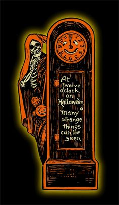 Vintage Halloween invite from Beistle.