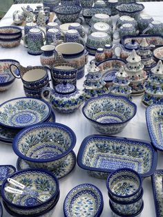 Pictures of our Shop - More Polish Pottery...A Destination for Polish Pottery Stoneware in the Chicagoland area