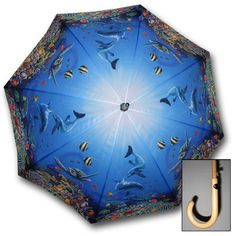 Find great umbrellas such as Sea Life Stick Umbrella at Umbrellas.com. Free shipping on qualifying orders.