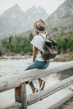 Fall Style // Grand Teton National Park