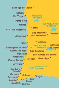 Parque Natural do Sudoeste Alentejano e Costa Vicentina Santiago Do Cacem, Azenhas Do Mar, Portugal Travel, Algarve, Lisbon, Life Is Good, Surfing, Parque Natural, Road Trip