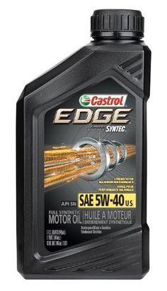 Castrol 06249 EDGE 5W40 SPT Synthetic Motor Oil  1 Quart Bottle Pack of 6 * Visit the image link more details.