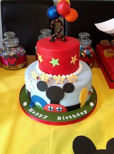 Awesome Mickey Mouse cake #cake #MickeyMouse
