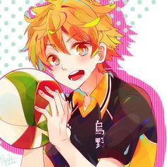 Tags: Sako U, Haikyuu!!, Hinata Shouyou, Volleyball Ball