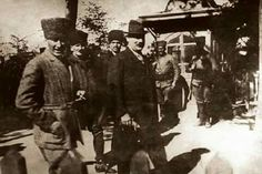 Fransız diplomat Franklin Bouillon ile Ankara, 13 Haziran 1921