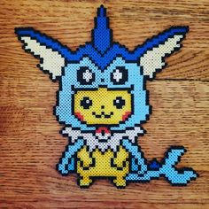 Pixel Pokemon, Pokemon Eevee, Pikachu, Cute Crafts, Bead Crafts, Hama Beads Pokemon, Perler Bead Mario, Easy Perler Bead Patterns, Anime Pixel Art