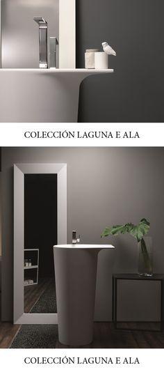 El sueño de un baño moderno. Colección Laguna e Ala de Toscoquattro. #baño #design