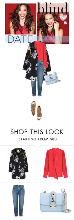 """""""Blind Date: Casual and Chic"""" by jpcarroll ❤ liked on Polyvore featuring Joules, Agnona, Topshop, Valentino, The Office Of Angela Scott, women's clothing, women, female, woman and misses"""
