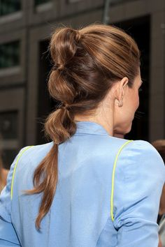 How-To: Pretty Pouf Pony #howto #ponytail #mariamenounos