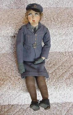 WREN RAF Boudoir Doll