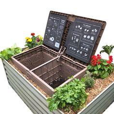 Garden Compost, Garden Soil, Raised Garden Beds, Raised Gardens, Garden Farm, Plant Health, Grow Your Own Food, Food Waste, Back To Nature