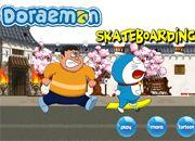 Doraemon Skateboading | Juegos Doraemon - el gato cosmico jugar