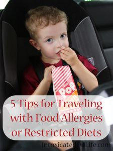 Traveling for the holidays? Here are 5 Tips for Traveling with Food Allergies or Restricted Diets