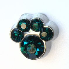 May Birthstone Paw Print Floating Locket Charm at showyourcharm.com Create your unique pet family floating locket with these cute birthstone paw prints . Add other jewelry charms with them to create your pet's story inside your floating locket.