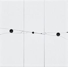John Francis | No2, 2015 | single ceramic gloss  white tile