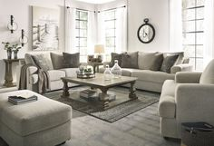 Get Ashley Furniture's Velletri Pewter Living Room Set with easy payment options from Coleman Furniture. Includes free in-home delivery and assembly. Diy Sofa, Design Living Room, Home Living Room, Living Room Decor Target, Modern Living Room Sets, Neutral Living Room Sofas, 3 Piece Living Room Set, Cottage Living, Small Living