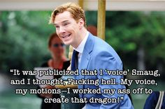 7 Fantastic Benedict Cumberbatch Quotes That Prove He Is A Totally Awesome Goofball