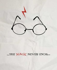 Harry Potter Has No End, Magic Never Ends.