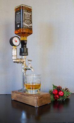 Alkohol Alkohol Whisky Holzspender, Jack Daniels Geschenke, Geschenk für ihn, 21. 30. 40. 50. Geburtstagsgeschenke, Geschenk für Papa