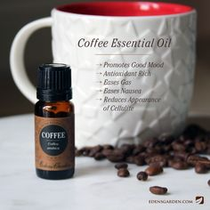 Coffee Essential Oil Recipe Young Living Essential Oils Peppermint Coffee Recipe Www, Thieves Oil Recipe Coffee Recipe With Thieves, 15 Diy Fall Essential Oil Recipes One Essential Community, Edens Garden Essential Oils, Essential Oils For Nausea, Coffee Essential Oil, Essential Oil Uses, Young Living Essential Oils, Pure Essential, Diffuser Blends, Oil Diffuser, Aromatherapy Oils