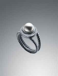 David Yurman & pearls...