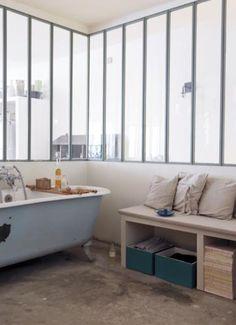 Casinha colorida: Especial banheiros 2016: os com banheiras vintage (e pés de patas de leão)