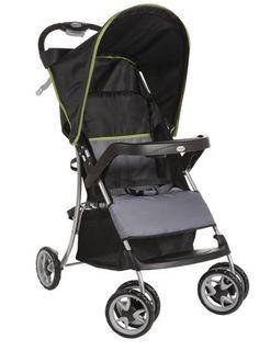 Xe đẩy gọn nhẹ, Khay 3 ngăn để thức uống cho người lớn;  Khay của bé rộng để đồ chơi, thức ăn & ngăn đựng sữa, nước.    http://bibomart.com.vn/xe-day-cho-be-c55.html