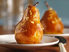 Slow Cooker Caramel-Maple Pears