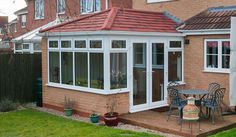 Solid Roof Edwardian Conservatories | Guardian Warm Roof Conservatories from Permaframe