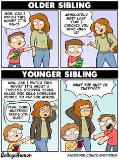 5 Comics That Perfectly Summarize Growing Up With Siblings ...