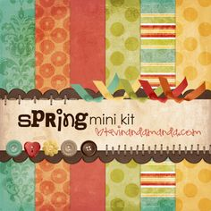 A blog with tons of free scrapbooking printouts/layouts