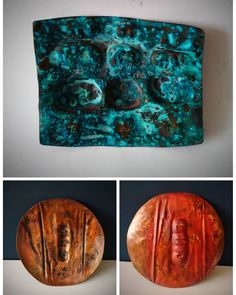 Full picture, patina experiment on copper, Recycled Jewelry, Organic Form, Experiment, Recycling, Copper, Concept, Abstract, Metal, Creative