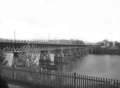 Elgeseter (Kongsgaard) bro, Knud Knudsen 1875-76, spesialsaml ub bergen, ubb-kk-1318-1278