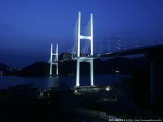 Megami Bridge 女神大橋 #nagasaki #kyushu #japan #bridge