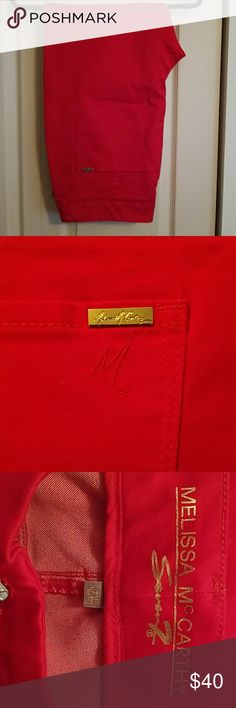 Melissa McCarthy Seven7 Red Jeans NWOT red jeans Melissa McCarthy Seven7 Jeans Skinny