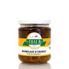 Marmelade d'Orange cuite au chaudron 180g Thala®