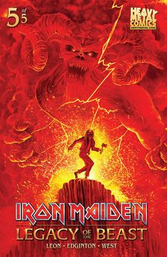 Iron Maiden Legacy Of The Beast Cover C Variant Jason Gordner Cover - Midtown Comics Heavy Metal Art, Heavy Metal Bands, Black Metal, Iron Maiden Posters, Iron Maiden Albums, Eddie The Head, Where Eagles Dare, Rock Y Metal, Country Girl Quotes