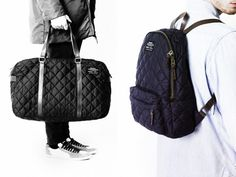 Quilted Backpacks and Water Resistant Tote Bags from Ecoalf