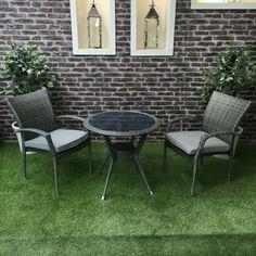 Supremo Ashbourne Bistro Set - Bistro Sets - Garden Furniture