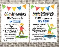 21 skyzone birthday party ideas