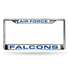 Air Force Falcons License Plate Frame, Multicolor https://www.fanprint.com/licenses/air-force-falcons?ref=5750 https://www.fanprint.com/licenses/air-force-falcons?ref=5750