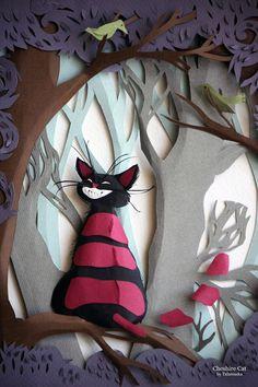 "* by Adamova Marina  - ""Alice in Wonderland"" series Adamova Marina Moscow, Russian Federation ✿≻⊰❤⊱≺✿"
