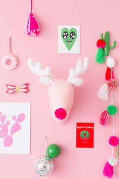DIY Plush Reindeer H
